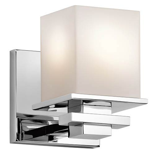 Tully Chrome One-Light Wall Sconce