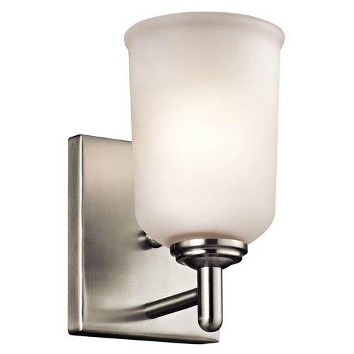 Kichler Shailene Brushed Nickel One-Light Wall Sconce