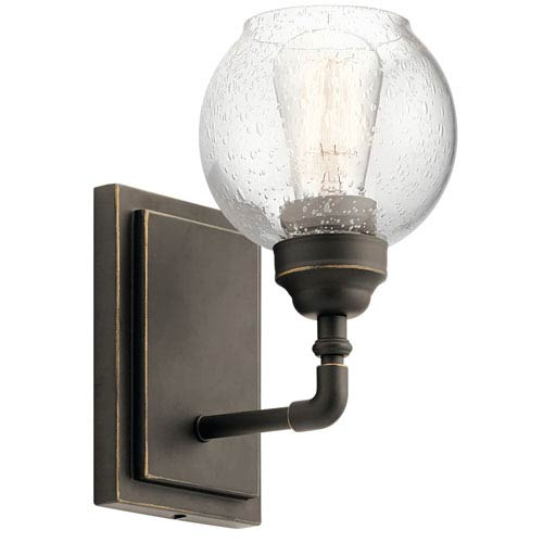 Kichler Niles Olde Bronze 6-Inch One-Light Wall Sconce
