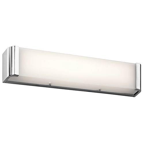 Landi Chrome Two-Light LED Bath Bar