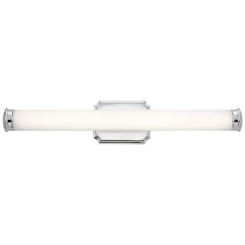 Cambria Chrome 26-Inch LED Bath Vanity