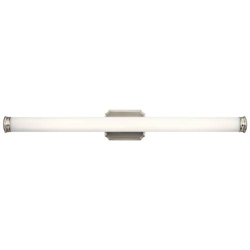 Cambria Brushed Nickel 38-Inch LED Bath Vanity