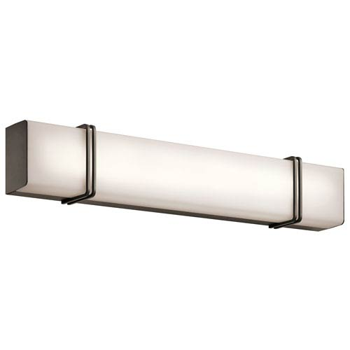 Impello Olde Bronze 30.5-Inch LED Linear Bath Bar