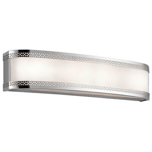 Kichler Contessa Chrome Four-Light LED Bath Bar