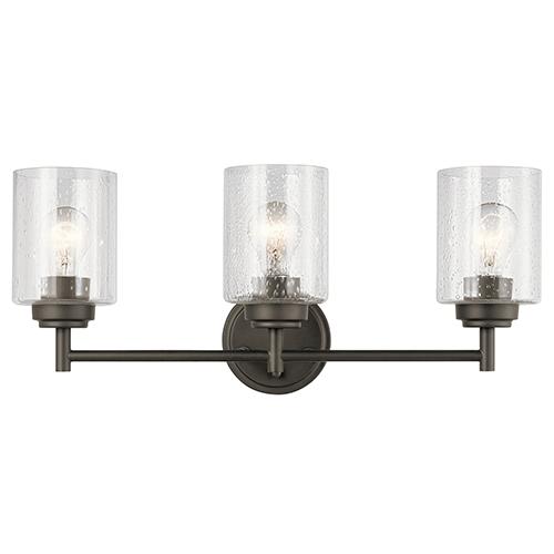 Winslow Olde Bronze 22-Inch Three-Light Bath Light