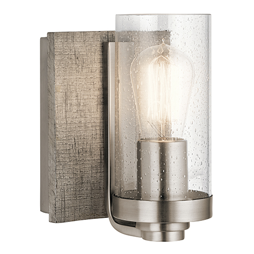 Dalwood Classic Pewter 6-Inch One-Light Wall Sconce