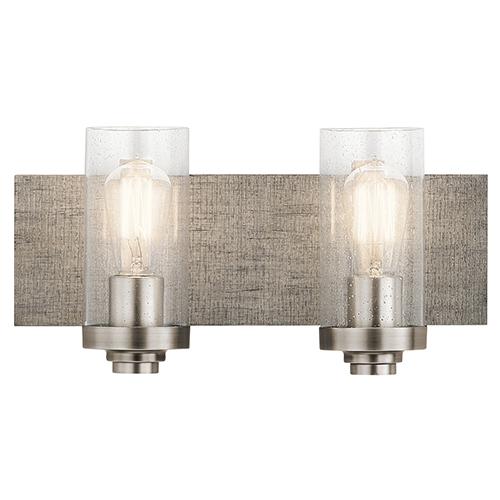 Dalwood Classic Pewter 16-Inch Two-Light Bath Light