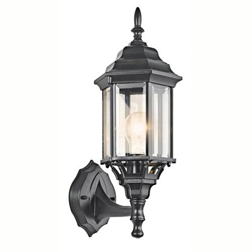Chesapeake Black Painted Outdoor Wall Light