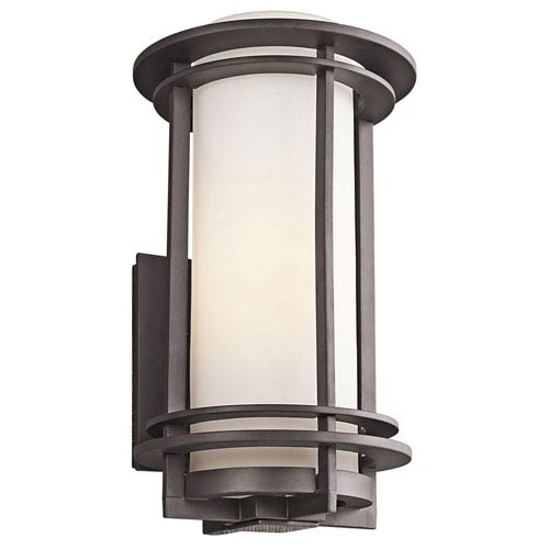 Kichler Pacific Edge Architectural Bronze Outdoor Wall Mounted Light ...