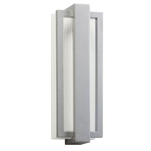 Kichler Sedo Platinum 12-Light LED Outdoor Small Wall Sconce