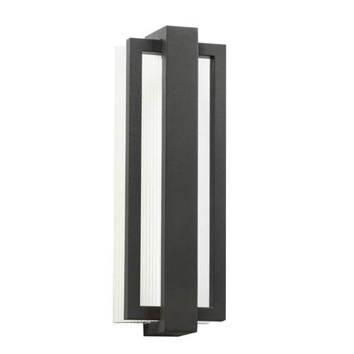 Kichler Sedo Satin Black 6-Inch 12-Light LED Outdoor Small Wall Sconce