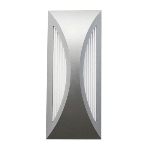 Kichler Cesya Platinum Six Light LED Outdoor Small Wall Sconce