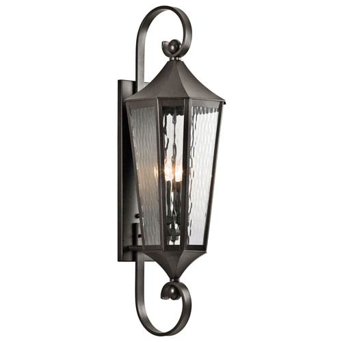 Kichler Rochdale Olde Bronze Four Light Large Outdoor Wall Sconce