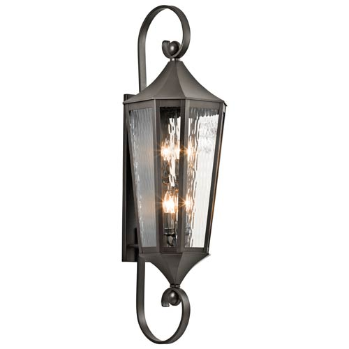 Rochdale Olde Bronze Six Light X-Large Outdoor Wall Sconce
