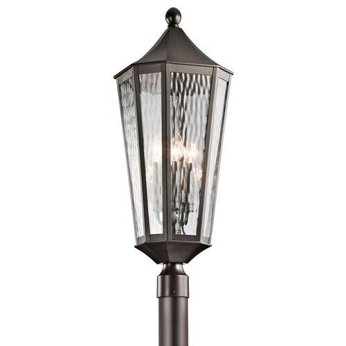 Kichler Rochdale Olde Bronze Four Light Outdoor Post Lantern