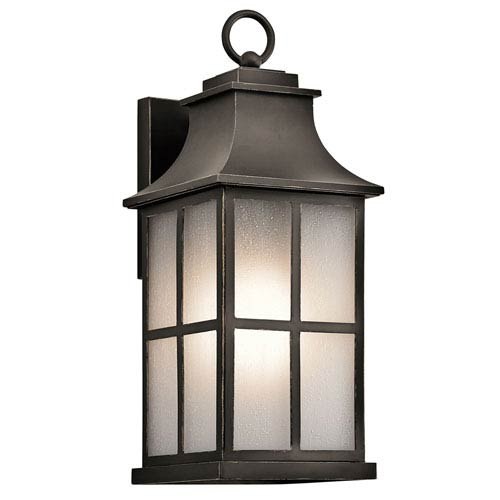 Pallerton Way Olde Bronze One-Light Outdoor Wall