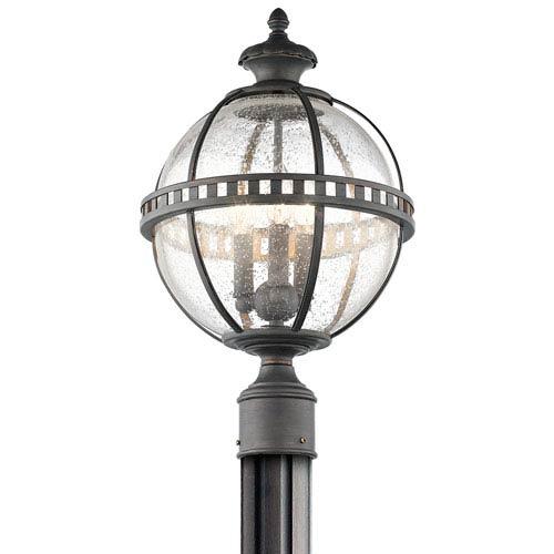 Halleron Londonderry Three-Light Outdoor Post Mount