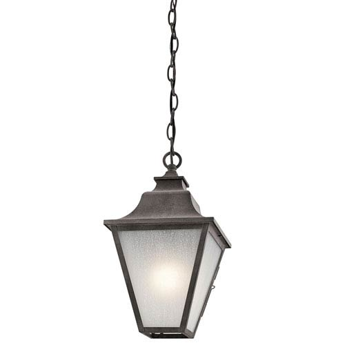 Northview Weathered Zinc One-Light Outdoor Pendant