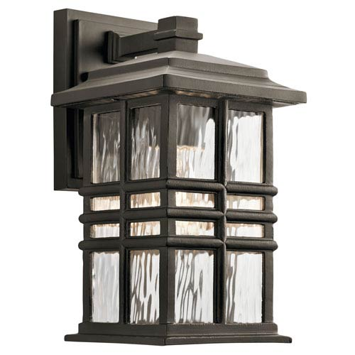 Beacon Square Olde Bronze 7-Inch One-Light Outdoor Wall Light