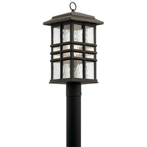 Beacon Square Olde Bronze 10-Inch One-Light Outdoor Post Lantern