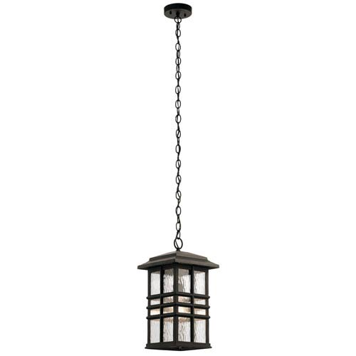 Beacon Square Olde Bronze 10-Inch One-Light Outdoor Hanging Pendant