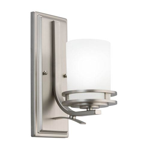 Hendrik Brushed Nickel Wall Sconce