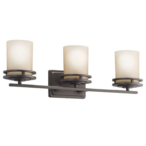 Hendrik Olde Bronze Three-Light Wall Sconce