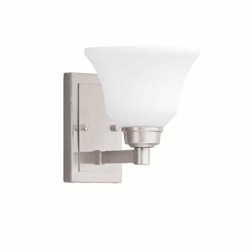 Kichler Langford Brushed Nickel 7-Inch One-Light Energy Star Wall Sconce