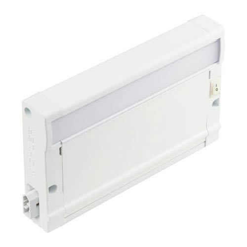 8U30KM07WHT Textured White 8U 7-Inch LED 3000K Undercabinet Light  Modular Only
