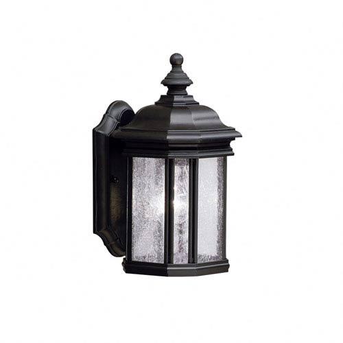 3e1530d0fd2 Kichler Kirkwood Black Outdoor Wall Mounted Lantern 9028bk