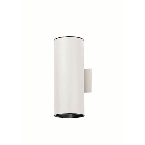 Kichler Cans and Bullets White Wall Sconce
