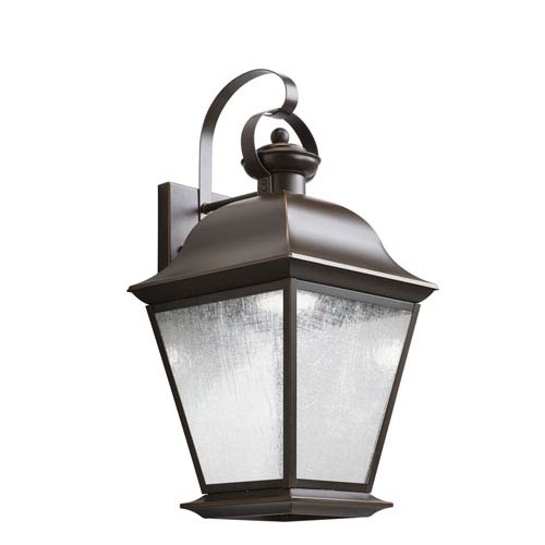 Kichler Mount Vernon Olde Bronze 28-Light LED Outdoor Medium Wall Sconce