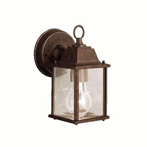 Kichler Tannery Bronze Cast Aluminum Outdoor Wall-Mounted Lantern