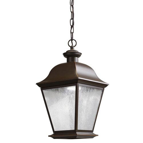 Mount Vernon Olde Bronze 28-Light LED Outdoor Hanging Mini Pendant