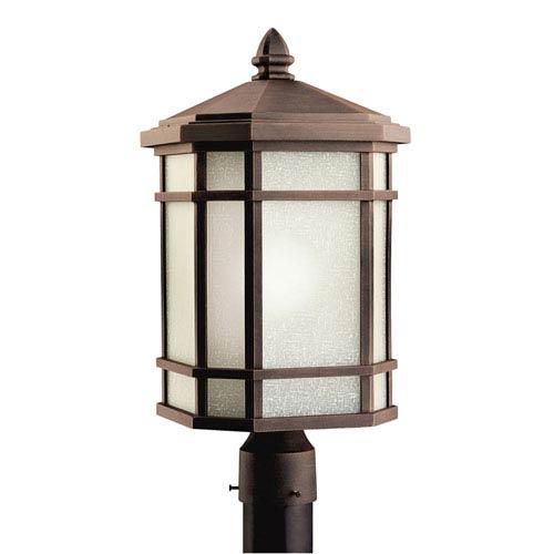 Kichler Cameron Prairie Rock Outdoor Post-Mount Lantern