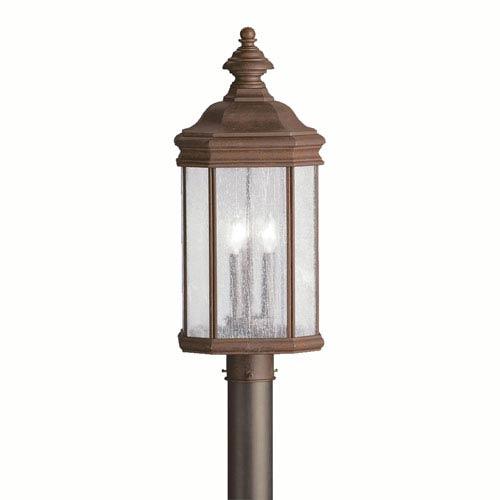 Kichler Kirkwood Tannery Bronze Outdoor Post-Mounted Lantern