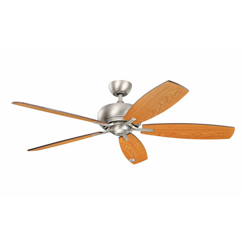 Kichler Whitmore Brushed Nickel 60-Inch Ceiling Fan
