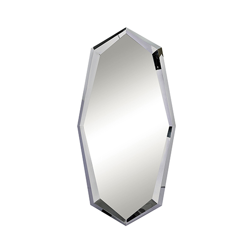 Boulder Polished Chrome Mirror