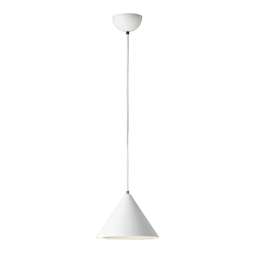 Abyss Matte White LED Mini Pendant