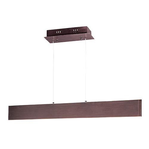 Blade Anodized Bronze 32-Inch LED Linear Pendant
