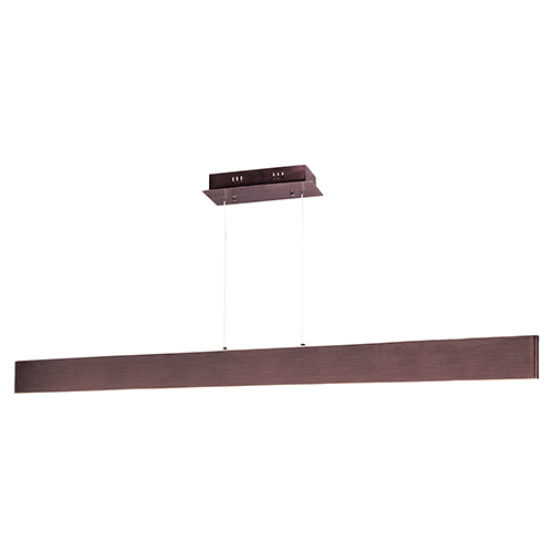 Blade Anodized Bronze 53-Inch LED Linear Pendant