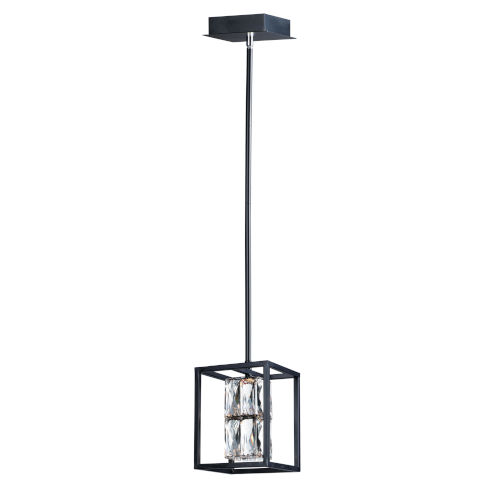 Deuce Black One-Light LED Mini Pendant