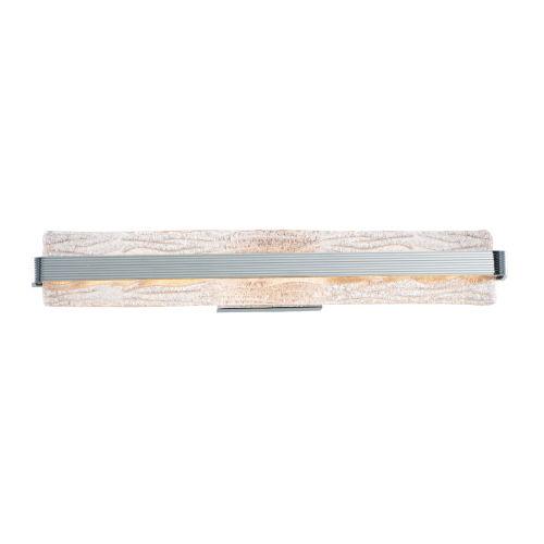 Ripple Polished Chrome 30-Inch LED Bath Vanity