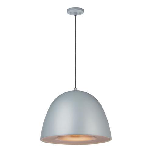 Fungo Gray 16-Inch LED Pendant