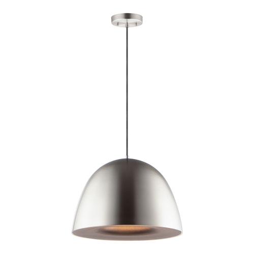 Fungo Satin Nickel 24-Inch LED Pendant