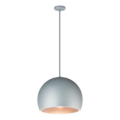 Palla Gray 16-Inch LED Pendant