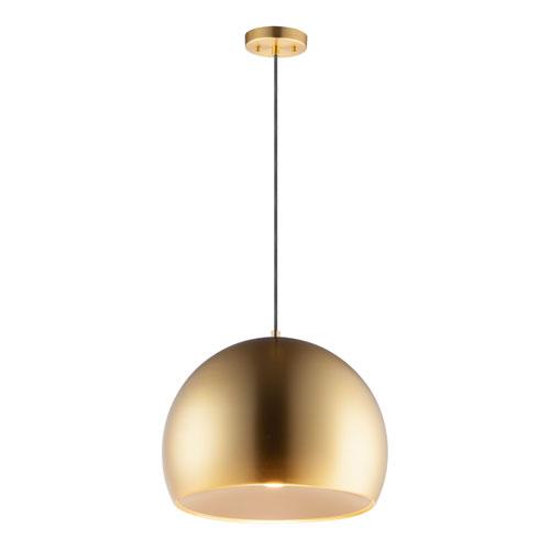 Palla Gold 16-Inch LED Pendant