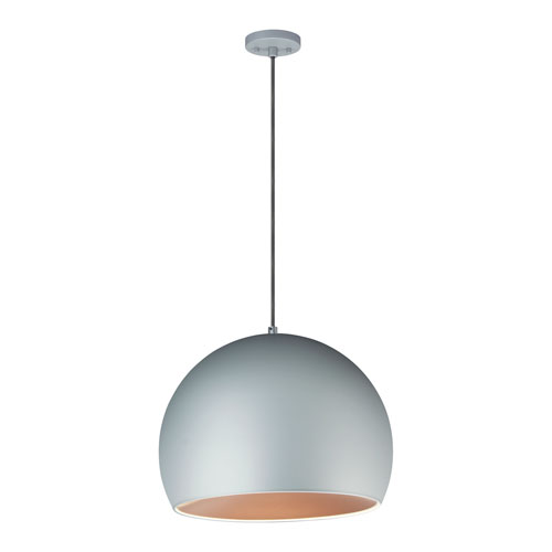 Palla Gray 20-Inch LED Pendant