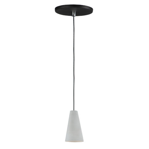 Gray One-Light LED Mini Pendant