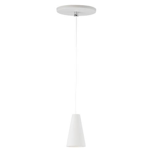 White 2-Inch One-Light LED Mini Pendant
